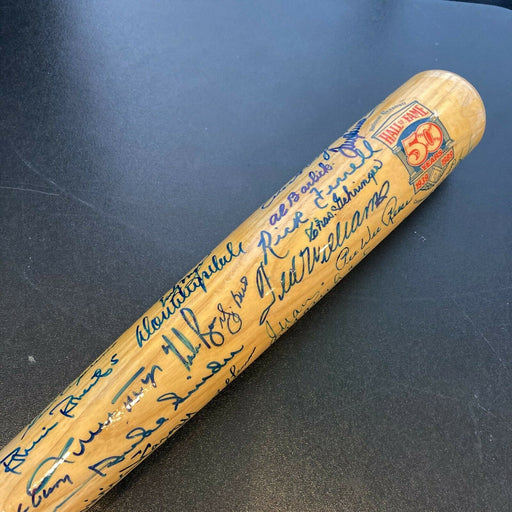 Beautiful Mickey Mantle Ted Williams Willie Mays Sandy Koufax HOF Signed Bat