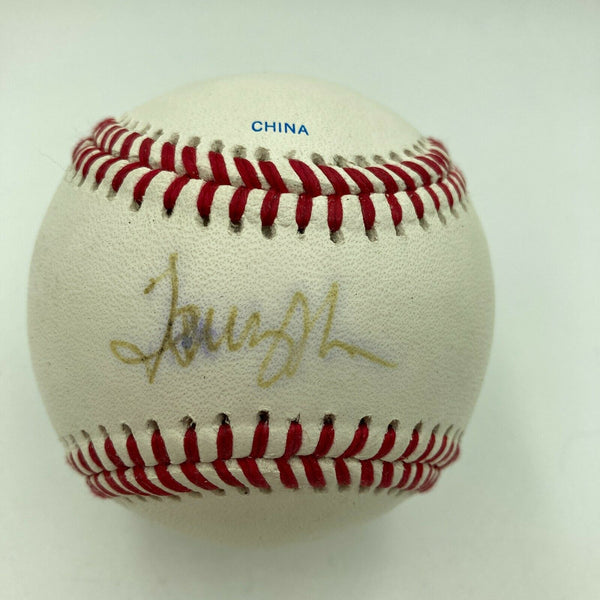 Tommy John Signed Autographed Official Major League Baseball