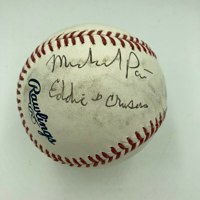 Michael Pare Signed Autographed Major League Baseball Celebrity JSA COA
