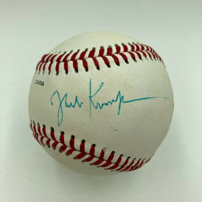 Jack Kemp Signed Autographed Official League Baseball JSA COA