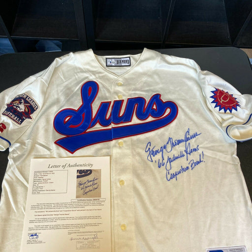 "Tom Seaver ""George Thomas"" Full Name Signed 1966 Mets Minor League Jersey JSA"