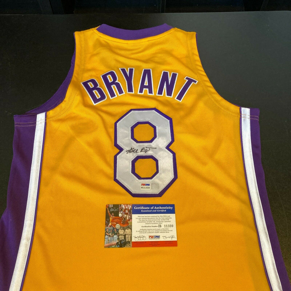 Kobe Bryant Signed Authentic 1999-2000 Los Angeles Lakers Finals Jersey PSA DNA