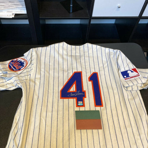 Stunning Tom Seaver Signed 1969 New York Mets Jersey With UDA Upper Deck COA