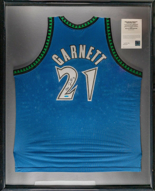 Kevin Garnett Signed Authentic Minnesota Timberwolves Jersey Upper Deck UDA COA