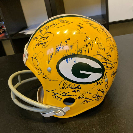 1989 Green Bay Packers Team Signed Autographed Full Size Helmet