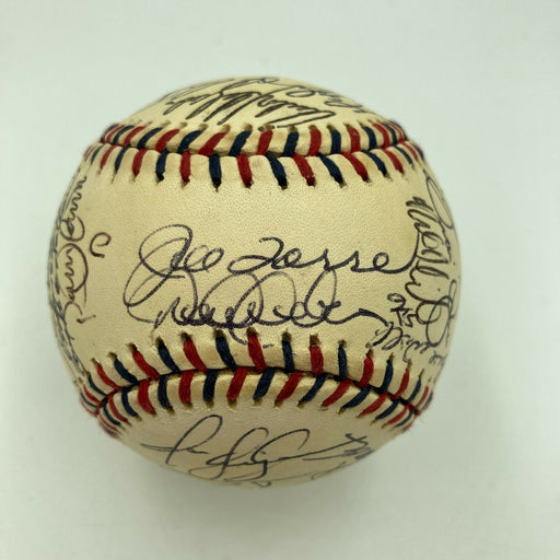 2000 All Star Game Team Signed Baseball Derek Jeter Alex Rodriguez JSA COA