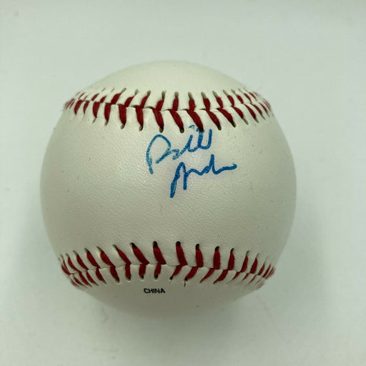 Bill Maher Signed Autographed Baseball With JSA COA Movie Star