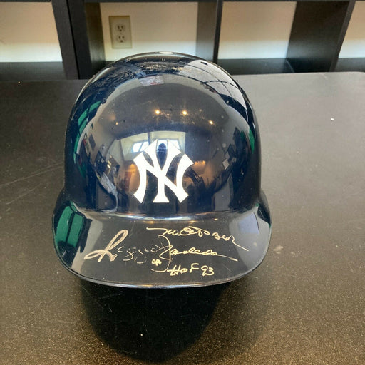 "Reggie Jackson ""HOF Mr. October"" Signed Authentic Yankees Game Model Helmet JSA"