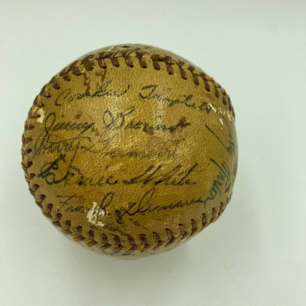 1943 St. Louis Cardinals Team Signed National League Baseball With Stan Musial