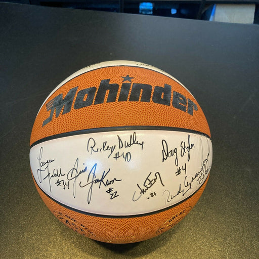 1991-92 Ohio State State Team Signed Autographed Basketball