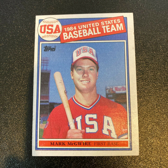 1985 Topps #401 MARK MCGWIRE Rookie RC