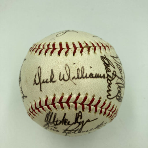 1967 Boston Red Sox AL Champs Team Signed American League Baseball JSA COA