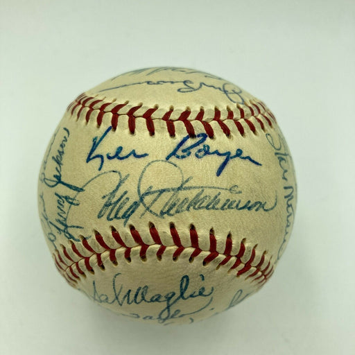 Beautiful 1958 St. Louis Cardinals Team Signed Baseball Stan Musial JSA COA