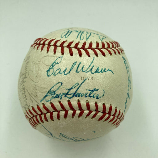 1970 Baltimore Orioles World Series Champs Team Signed Baseball With JSA COA