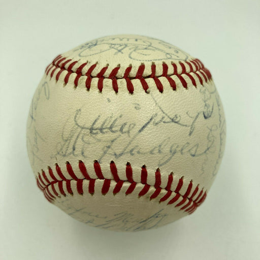 Roberto Clemente Willie Mays Hank Aaron 1970 All Star Game Signed Baseball PSA