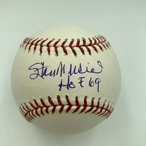 Stan Musial Hall Of Fame 1969 Signed Major League Baseball JSA COA