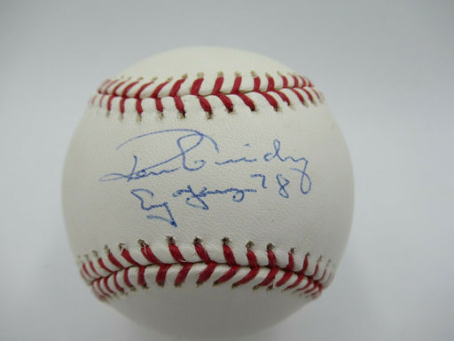 Ron Guidry Cy Young 1978 Signed Autographed Major League Baseball Steiner COA