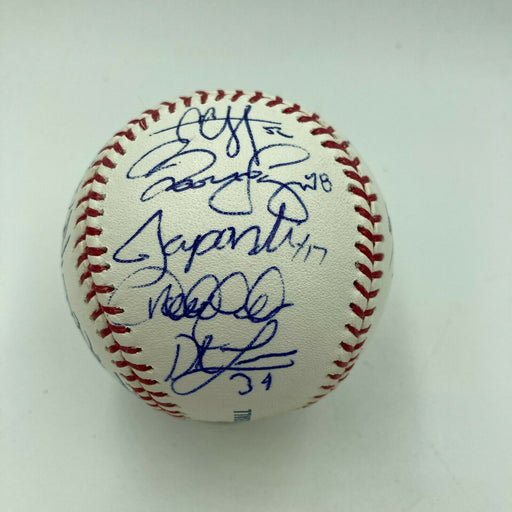 2012 New York Yankees Team Signed Baseball Derek Jeter Mariano Rivera PSA DNA