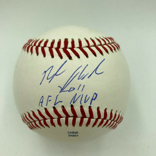"Nolan Arenado Rookie ""2011 AFL MVP"" Signed Arizona Fall League Baseball JSA"