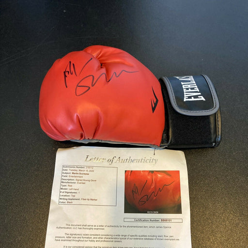 Martin Scorsese Signed Everlast Boxing Glove With JSA COA Raging Bull