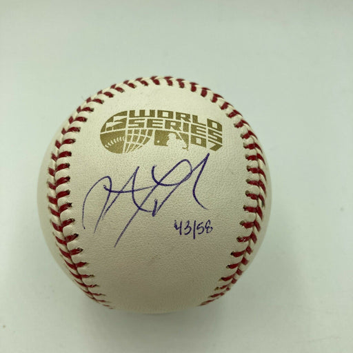 Jonathan Papelbon Signed 2007 World Series Baseball Boston Red Sox MLB Authentic