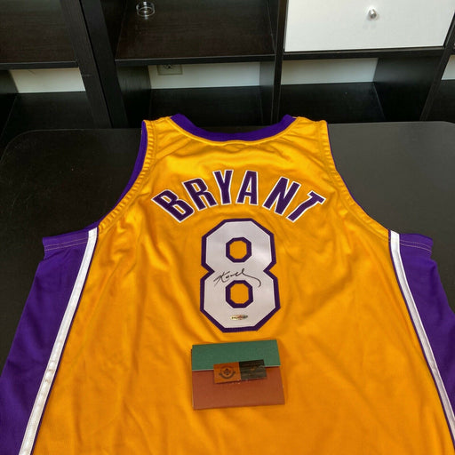 Kobe Bryant Signed 2002-03 Pro Cut Los Angeles Lakers Jersey UDA Upper Deck COA
