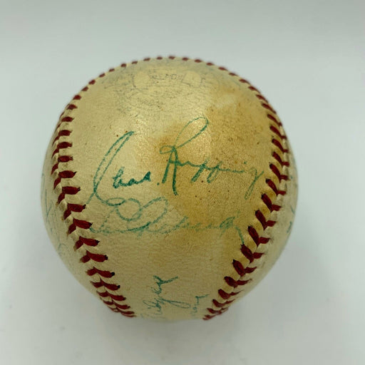 Historic Lou Gehrig 1939 Final All Star Game Team Signed Baseball With JSA COA