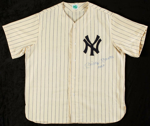 Mickey Mantle No.7 Signed Autographed New York Yankees Jersey With Beckett COA