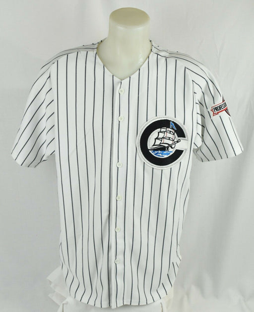 Jorge Posada 1996 Rookie Game Used Yankees Columbus Clippers Minor League Jersey