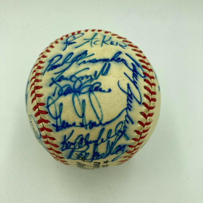 1986 Atlanta Braves Team Signed Autographed Official National League Baseball