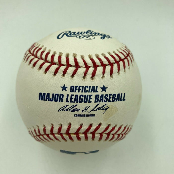 Nick Swisher Signed Autographed Official Major League Baseball