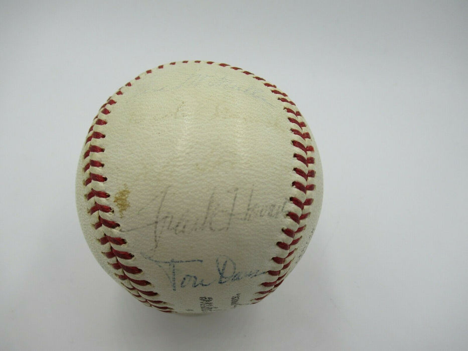 Sandy Koufax 1960's Los Angeles Dodgers Team Signed Baseball World Series Champs