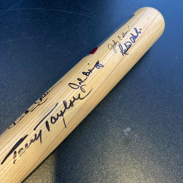Philadelphia Phillies Legends Multi Signed Cooperstown Bat With Dick Allen