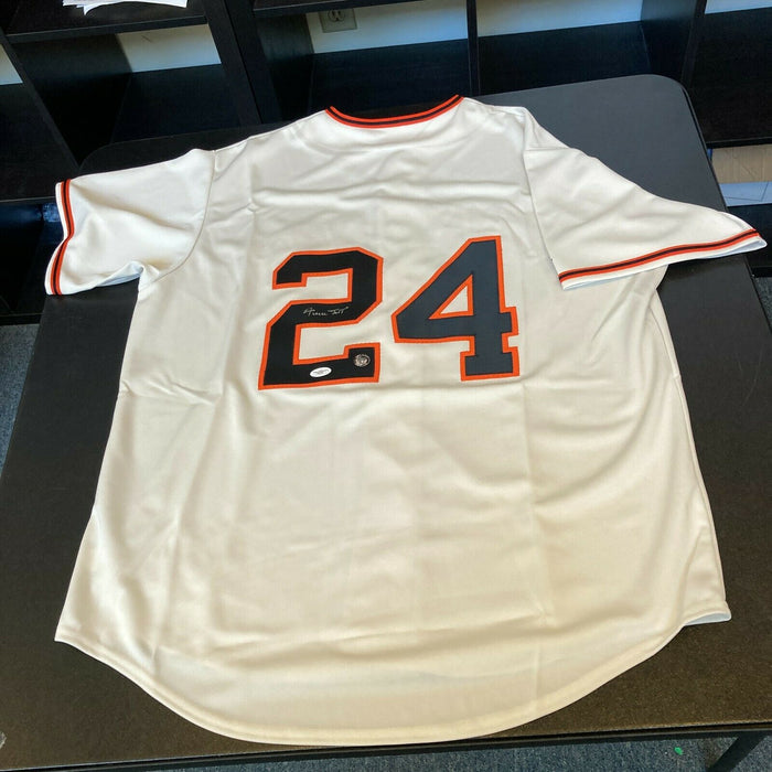 Willie Mays Signed Authentic San Francisco Giants Jersey With JSA COA