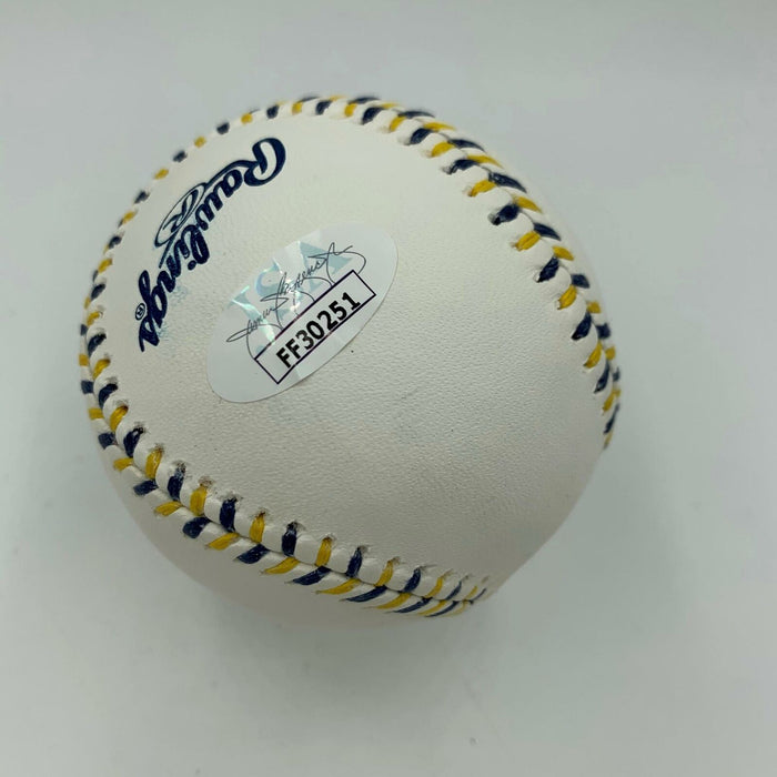 Manny Machado Signed Autographed Official 2016 All Star Game Baseball JSA COA