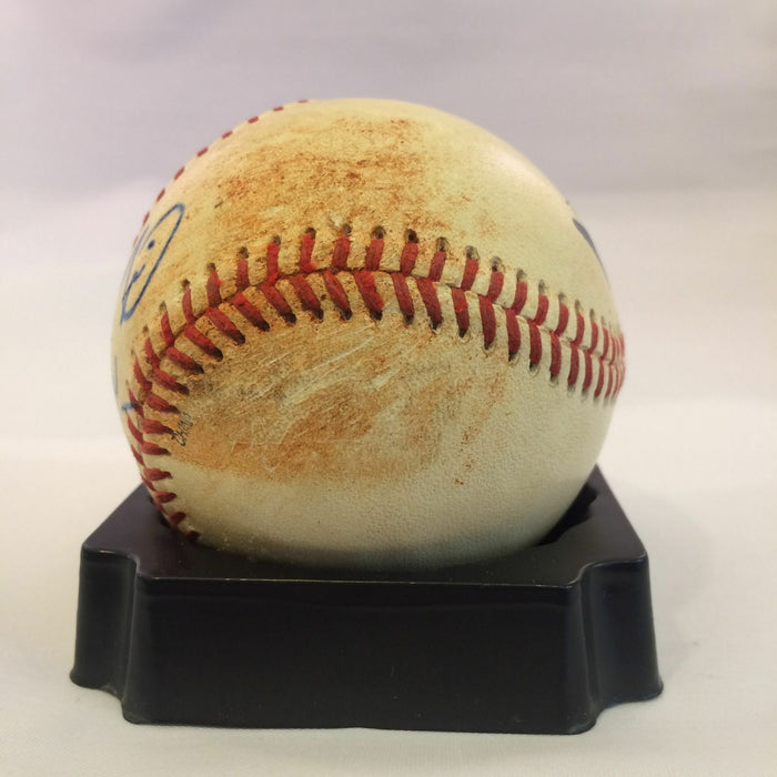 Prince Fielder Autographed Game Used Minor League Baseball Jsa And Mears Loa