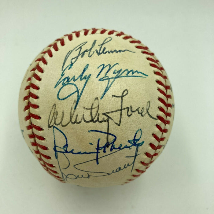 Rare 200 Win Club Signed Baseball 19 Sigs Tom Seaver Bob Gibson Don Drysdale PSA