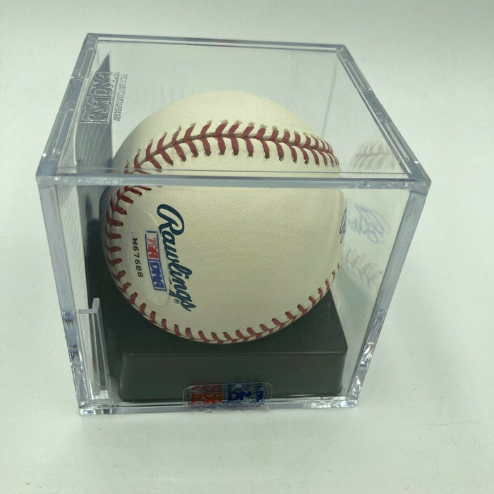 Stan Musial Signed Major League Baseball PSA DNA Graded GEM MINT 10