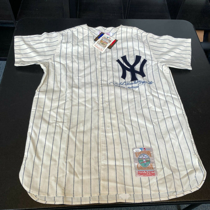 Phil Rizzuto MVP 1950 HOF 1994 Signed New York Yankees Authentic Jersey JSA COA