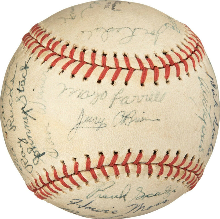 Earliest Known 1939 Stan Musial Pre Rookie All Star Game Signed Baseball PSA DNA