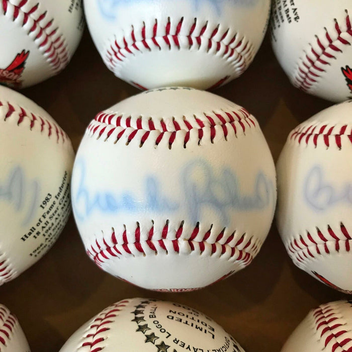 Lot Of 22 Brooks Robinson Signed Hall Of Fame 1983 Special Edition Baseballs