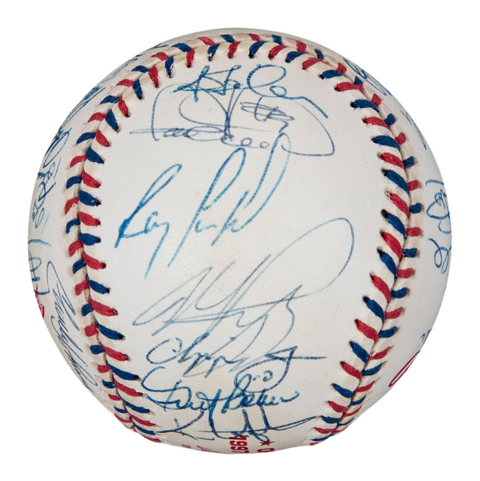 1997 All Star Game Team Signed Baseball 31 Sigs! Chipper Jones Beckett COA