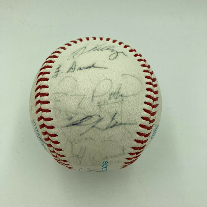 1990's Hagerstown Suns Toronto Blue Jays Team Signed Minor League Baseball