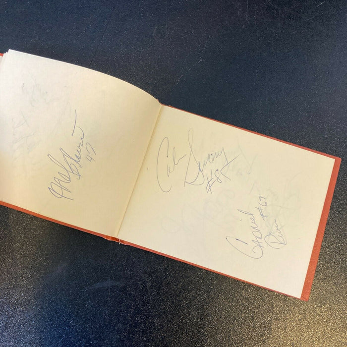 1984 Pittsburgh Steelers Signed Auto Autograph Album 24 Signatures