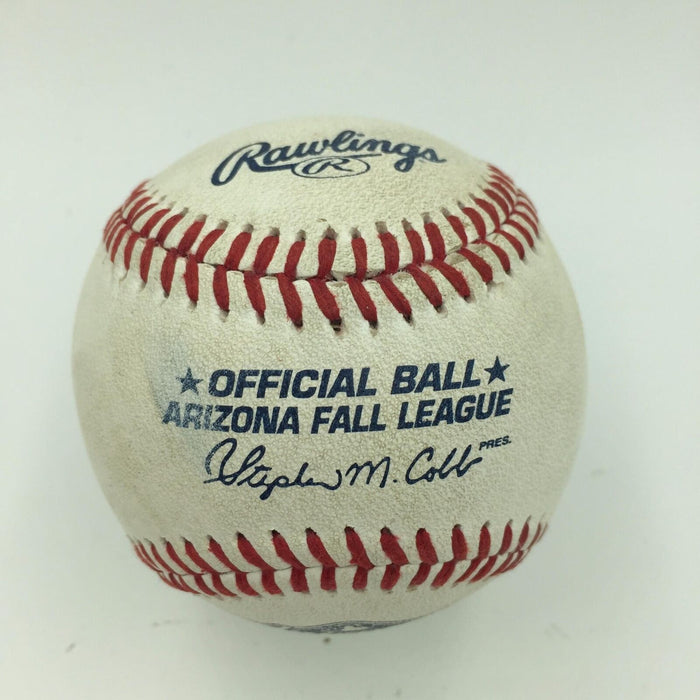 Aaron Judge Pre Rookie Signed 2014 Game Used Arizona Fall League Baseball JSA