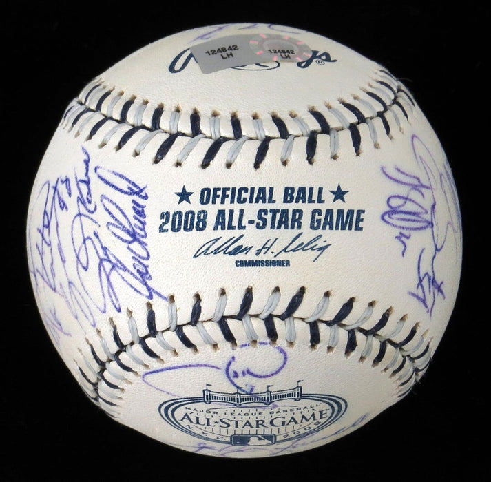 Roy Halladay Ichiro Suzuki 2008 All Star Game Team Signed Baseball MLB Authentic
