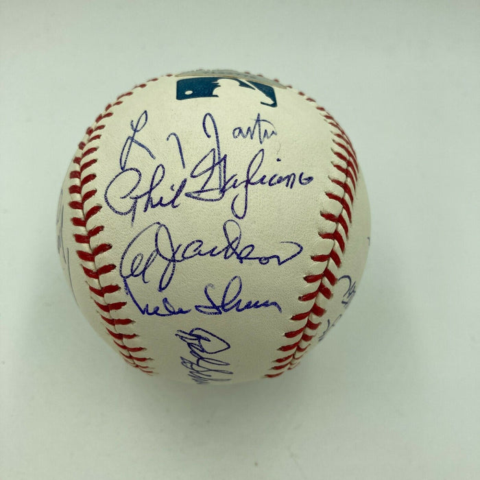 1967 St. Louis Cardinals World Series Champs Team Signed Baseball JSA COA