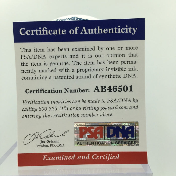 Dwight Doc Gooden Signed Heavily Inscribed MLB Baseball PSA DNA COA