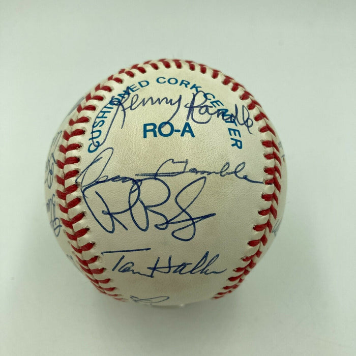 Dick Williams Dean Chance Mickey Lolich Baseball Legends Signed Baseball 20 Sigs
