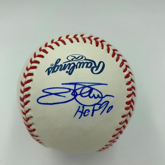 Ozzie Smith Paul Molitor Bruce Sutter Jim Palmer Signed Major League Baseball